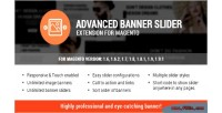 Banner advanced slider magento for extension