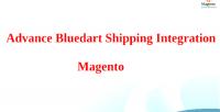 Bluedart advance magento integration shipping