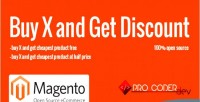 Buy x & get extension magento discount
