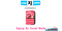 By signup social media