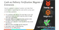 Cash on delivery verification extension 2 magento