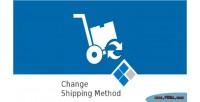 Change medma shipping orders on method