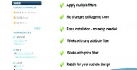 Checkable magento select multiple filter
