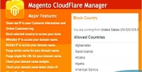Cloudflare magento manager