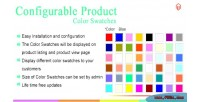 Color magento swatches