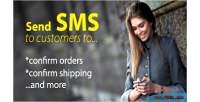 Confirmation sms for shipping & order