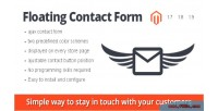 Contact floating extension magento form
