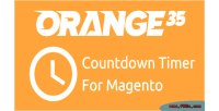 Countdown magento orange35 from timer