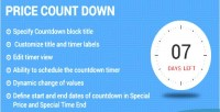 Countdown price magneto2 extension