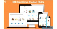 Countdown sm product responsive slider module 2 magento