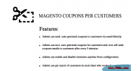 Coupon magento per customer