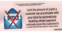 Credit customer limit