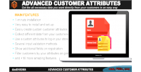 Customer advanced magento for attributes