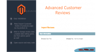 Customer advanced review