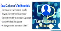 Customer easy s extension magento testimonial