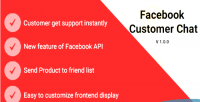 Customer facebook chat 2 magento for