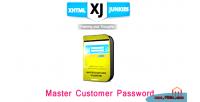 Customer master password