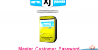 Customer master password