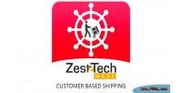 Customer zesttech based shipping