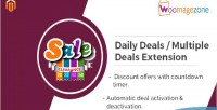 Daily magento deal extension
