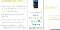 Daily magento deals