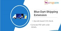 Dart blue shipping extension magento 0 2