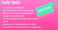 Deals daily extension 2 magento