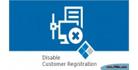 Disable medma customer registration