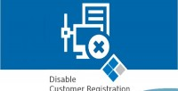 Disable medma customer registration