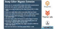Editor stamp magento extension