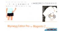 Editor wysiwyg pro 2 magento for