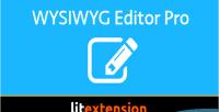Editor wysiwyg pro
