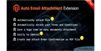 Email auto attachment