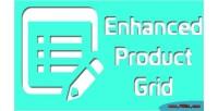 Enhanced magento product grid