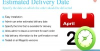 Estimated magento delivery date
