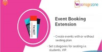 Event magento ticket extension