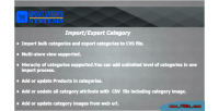 Export import categories
