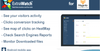 Extrawatch heat map real tracking visitor time
