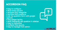 Faq accordion magento extension