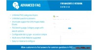 Faq advanced extension 2 magento for
