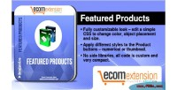 Featured magento products extention