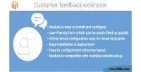 Feedback customer magento2 extension