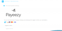 First magento hosted payeezy data