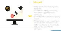 For misspell magento 2