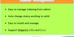 From reindex admin ce 2 magento