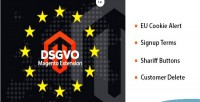 Gdpr dsgvo 4 in magento 1 extension 9 1