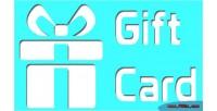 Gift magento card