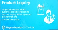 Inquiry product magento extension