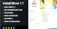 Installer magento tool moving and