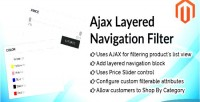 Layered ajax navigation extension magento filter